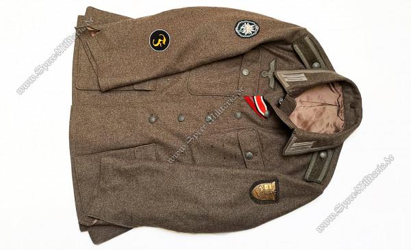 Wehrmacht Uniform/Feldbluse M42 Gebirgsjäger Unteroffizier[E.REITZ/Belgien]