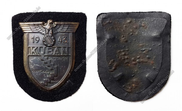 Kuban Campaign Shield 1943 for Panzer Wrapper