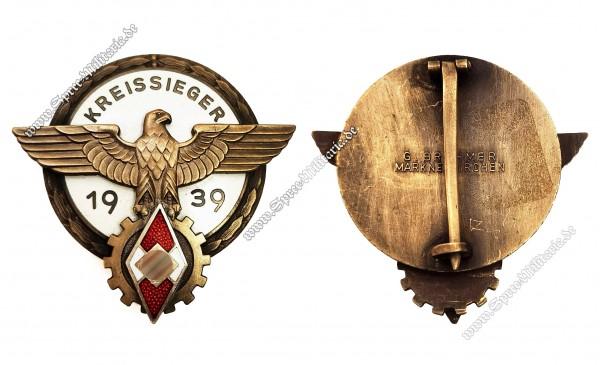 Abzeichen Kreissieger im Reichsberufswettkampf(1939)
