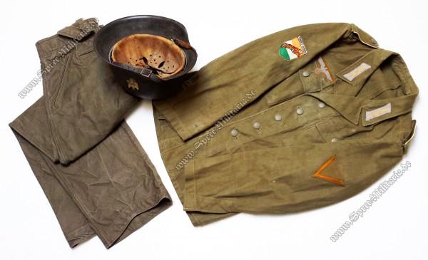 """Wehrmacht Legion Freies Indien """"Azad Hind"""" Uniform Nachlass"""