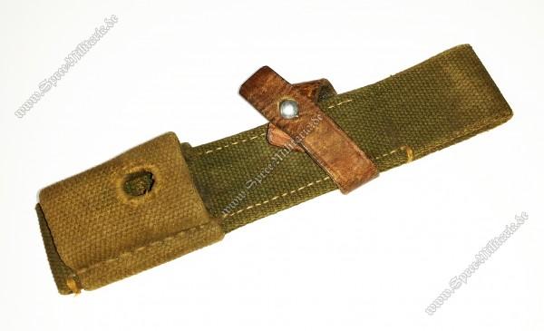 Wehrmacht Afrikakorps Web-Koppelschuh für Bajonett(98K)