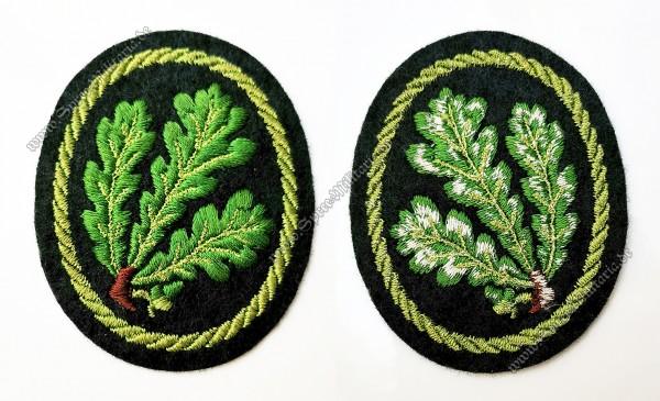 Wehrmacht Ärmelabzeichen der Jägertruppen
