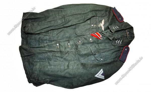 Luftwaffe/LW Feld-Division Sommer Felbluse M42 Mannschaften