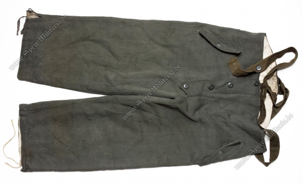 Wehrmacht Grey Reversible Winter Trousers