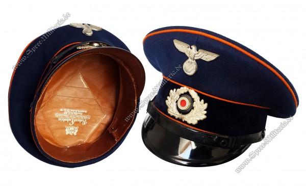 Reichspost EM/NCO Service Visor