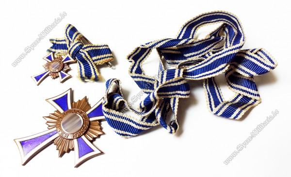 Ehrenkreuz der Deutschen Mutter in Bronze +Miniatur