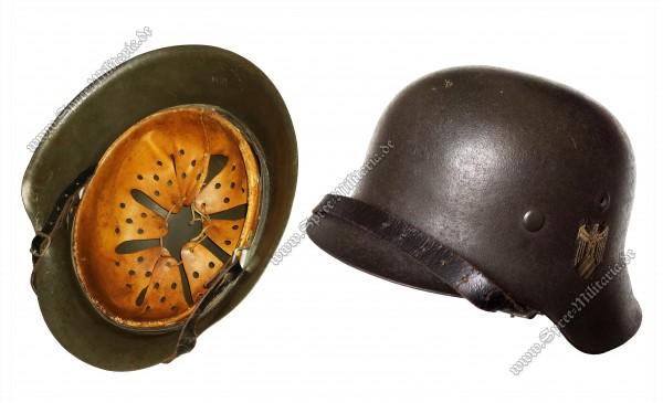 """Wehrmacht Stahlhelm M42 """"EF64"""""""