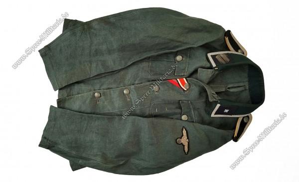 W-SS Drillich/Sommer Feldbluse M36 Kavallerie Unterscharführer