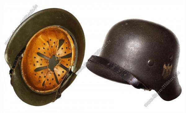 """Wehrmacht Stahlhelm M42 """"ET66"""""""
