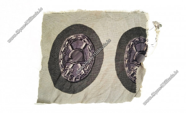 Black Wounded Badge(1939) Cloth Type