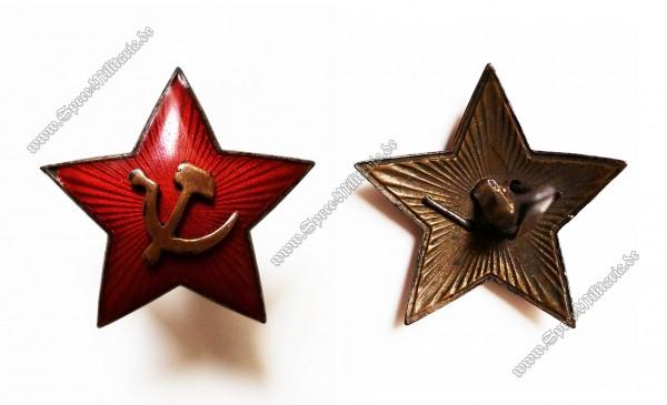 Russland WWII Soviet Mützen Stern