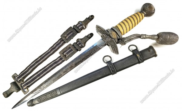 Luftwaffe(LW) Officers Dagger M37[Emil Voos/Solingen]
