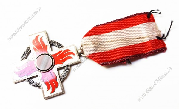 Fire Brigade Honour Badge on Ribbon