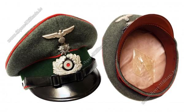 Wehrmacht Schirmmütze Gebirgs-Artillerie Mannschaften