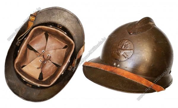 Französische Armee WK1&2 Adrian Stahlhelm M15