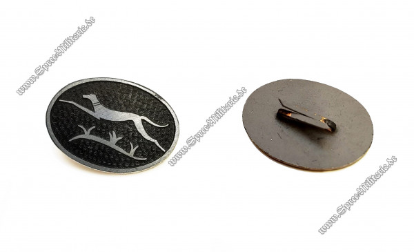 Greyhound Division Pin for Wehrmacht Visor