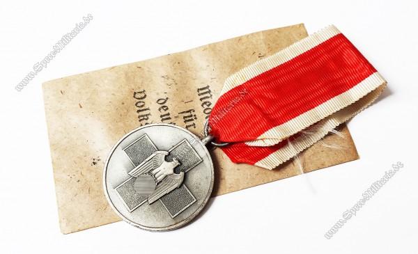 Medaille für deutsche Volkspflege am Band+Tüte