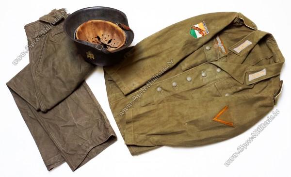 """Wehrmacht Legion Freies Indien """"Azad Hind"""" Uniform Ensemble"""