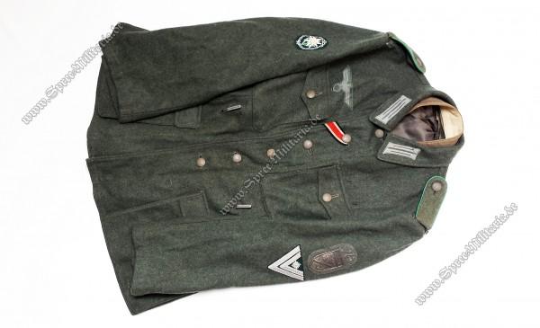 Wehrmacht Feldbluse M42 Gebirgsjäger Stabsgefreiter