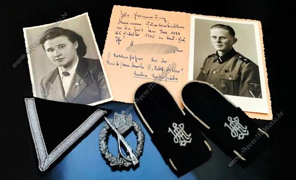 Insignia/Badge/Photo Grouping Leibstandarte[LSSAH] Rottenführer
