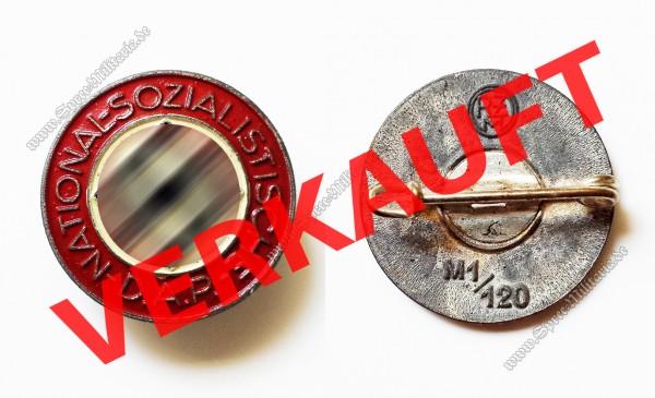 NSDAP Mitgliedsabzeichen[RZM M1/120]