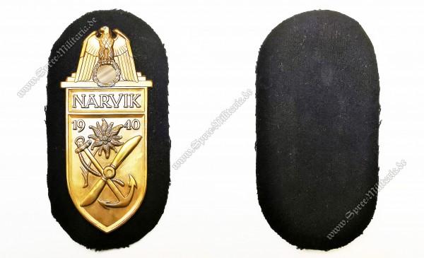 Kriegsmarine Ärmelschild Narvik 1940