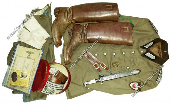 Reichsarbeitsdienst(RAD) Oberstfeldmeister Komplett Nachlass