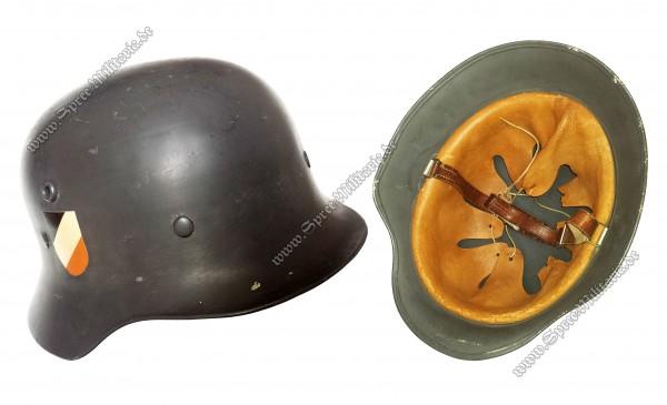 Luftwaffe Doppelabzeichen Paradehelm M35