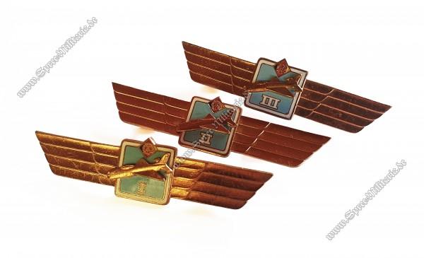 NVA Klassifizierungsspange für Flugzeugführer Stufe I - III