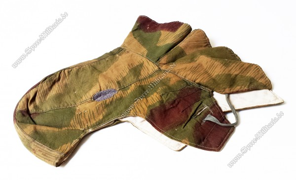 Wehrmacht Sumpftarn Kopfhaube zum Winter Tarnanzug