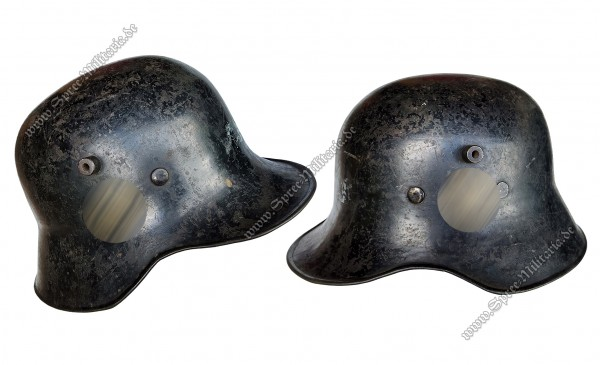 General-SS/VT RZM Double Decal Steel Helmet M31