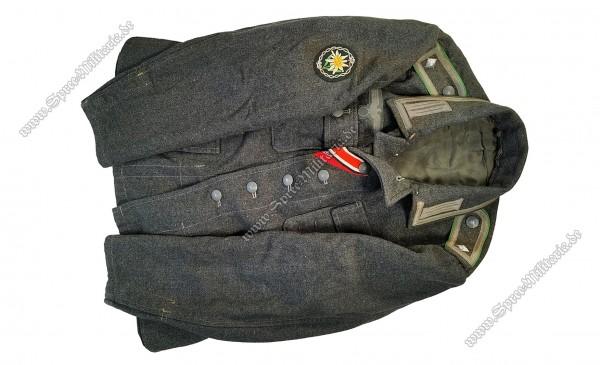 Wehrmacht Uniform/Feldbluse M42 Gebirgsjäger Unteroffizier