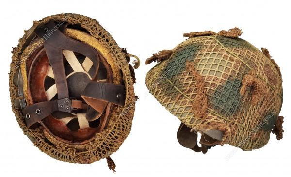 """England WWII Paratrooper Steel Helmet Mk.1 """"BMB 1942"""""""