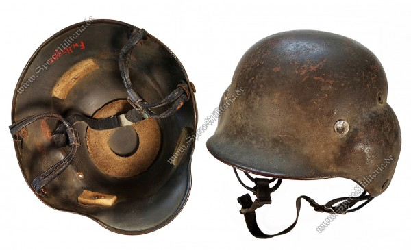 Luftwaffe Flight Protection Steel Helmet M40[D181]
