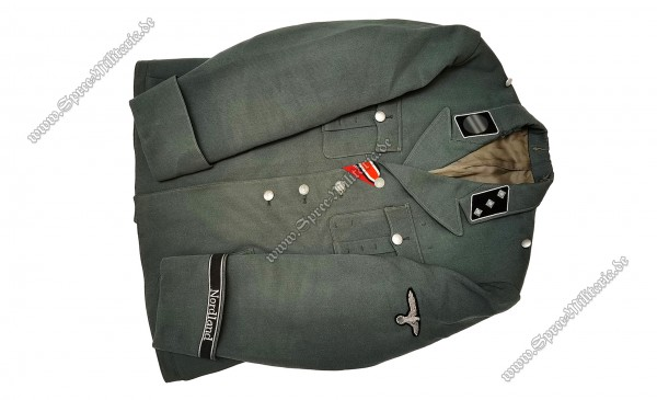 """W-SS Officers Field Blouse Panzer-Recon """"Nordland"""" NCO Georg Langendorf"""