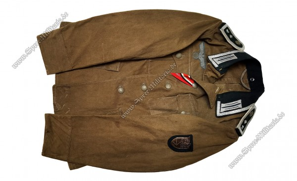 Wehrmacht Eastern Front Summer Field Blouse M36 Infantry NCO