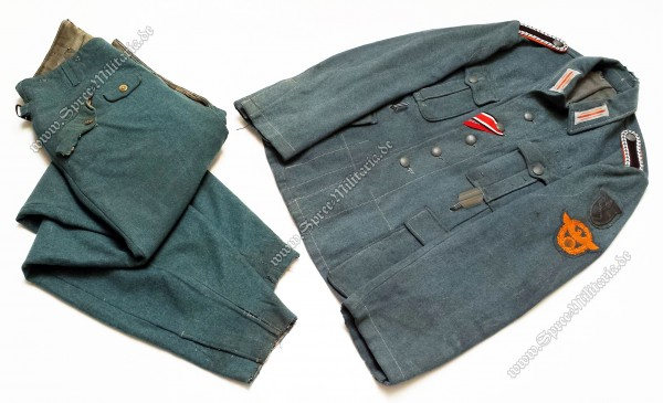 SS-Polizei-Division/Feldgendarmerie Uniform M42