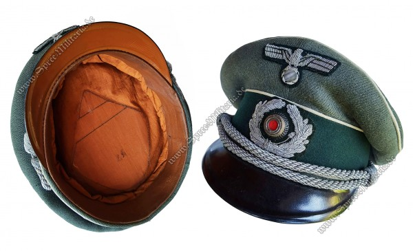 Wehrmacht Schirmmütze für Infanterie Offiziere
