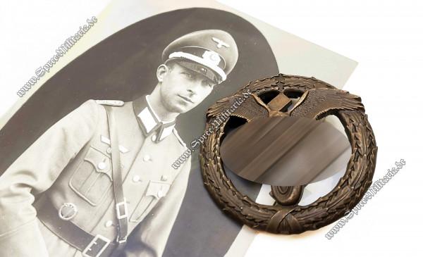 Deutsches Motorsportabzeichen 3.Stufe/Bronze mit Trägerfoto